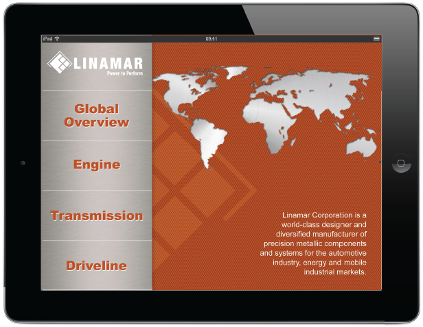 Visual Thinkers Linamar Mobile Application